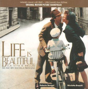 Life Is Beautiful free piano sheet music by Nicola Piovani