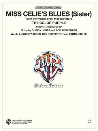Miss Celie's Blues (Sister) free piano sheet music by Quincy